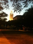 UT Tower evening
